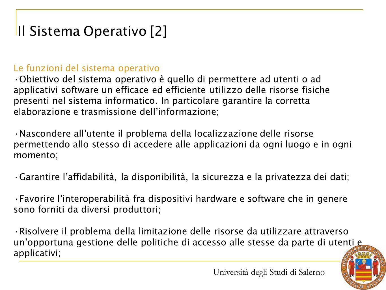 Il Sistema Operativo [2]